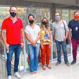 Equipe de Turismo faz visita à Estação Literária de Guararema
