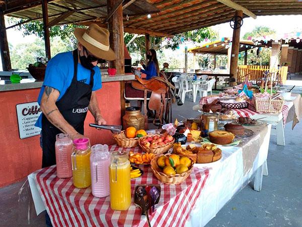 Cafés da Manhã são opções turísticas na zona rural aos fins de semana