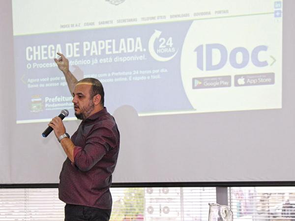 Tecnologia e inovação: Pinda é destaque no maior encontro online de gestão pública do Brasil