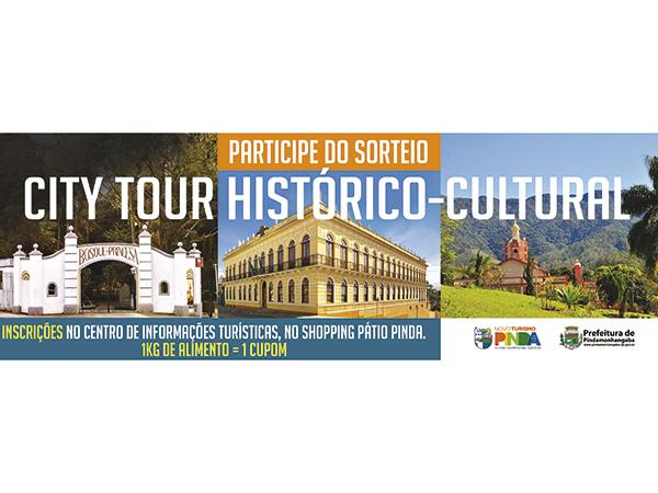 Sorteio: City Tour Histórico-Cultural