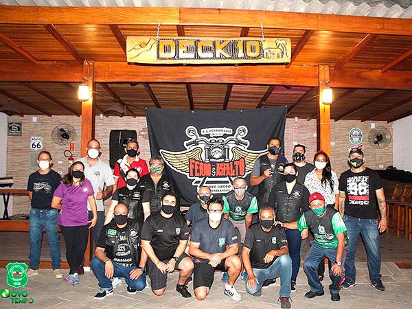 """Grupo de motoqueiros """"Ferro e Asfalto"""" comemora aniversário na Ferroviária neste sábado"""