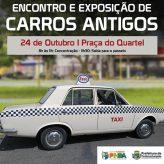 Encontro e exposição de Carros Antigos