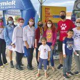 Departamento de Turismo de Pinda participa de evento 'Outubro Rosa Pet'